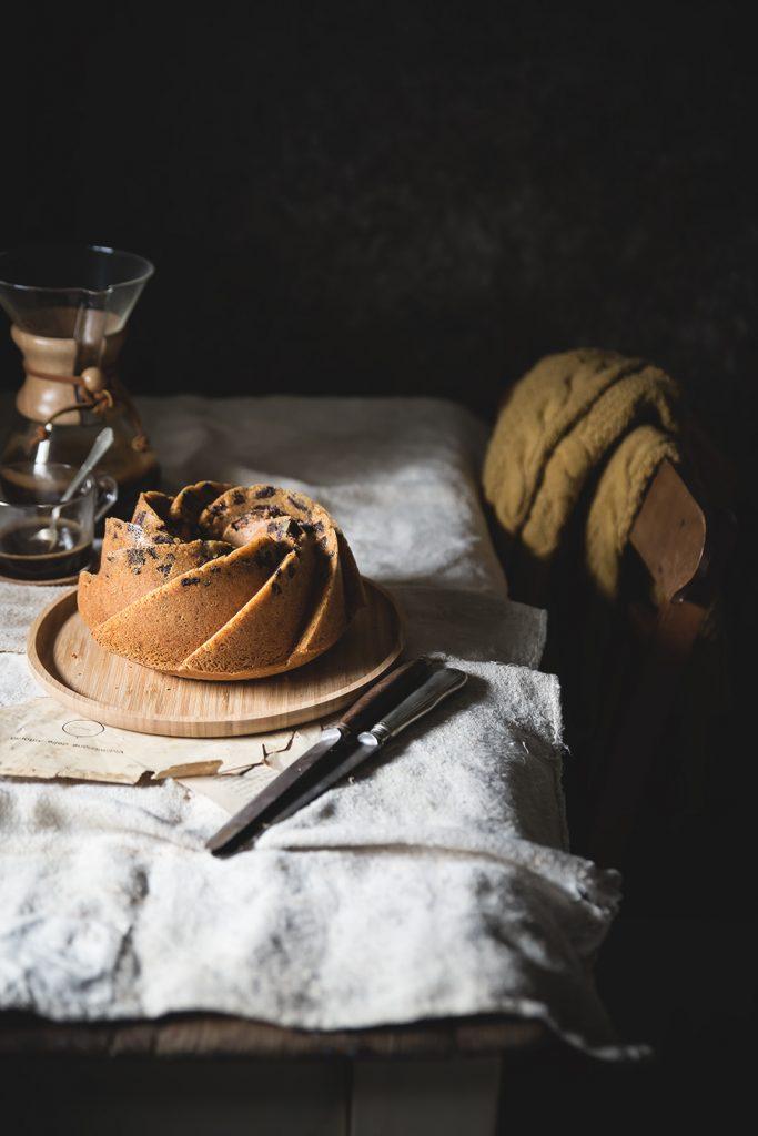 Ciambellone alla panna e caffè