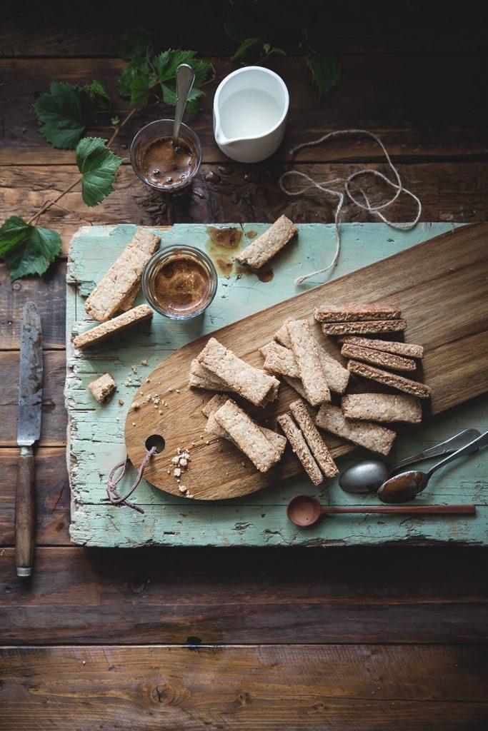 Biscotti alla grappa e mandorle